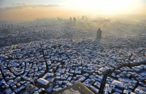 Istanbul after snowstorm