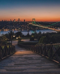 Istanbul after sunset