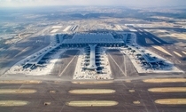 Istanbul New Airport the worlds largest currently under construction