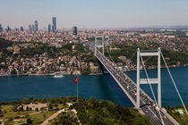 Istanbul Turkey from above