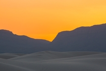 It Almost Looks Fake - Amber and Waves White Sands National Monument by Gary Seloff