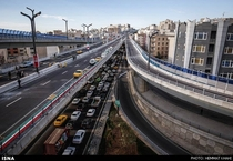 It could be TokyoSadr Elevated Expressway Tehran Iran