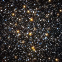 It goes on forever andoh my Godits full of stars Hubble takes a deeper look at the center of globular cluster NGC  which is about  light-years away