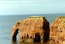 It may not be around anymore but heres Elephant Rock from my home PEI  not OC