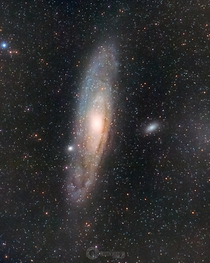 It may not be the best but it is my first ever attempt M Andromeda Galaxy