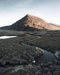 It was a am start but theres no mountains like this at home - Snowdonia National Park Wales UK