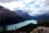 It was one of my favorite Oooh-Aaah moments Peyto Lake Banff National Park