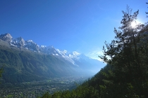 It was worth the hike Chamonix Mont Blanc