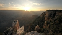 It was worth to wake up early to behold the sun rise at Grand Canyon