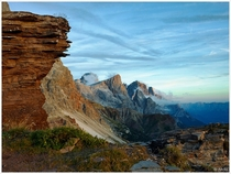 Italian Alps Dolomite Mountains  OC