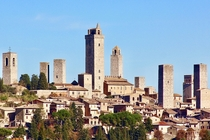 Italy San Gimignano The medieval town where time has stood still