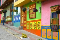 Its a fairytale town isnt it Guatap Colombia