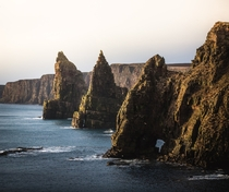 Its a long drive up to the most north-easterly point of Britain But its worth it The Duncansby Stacks