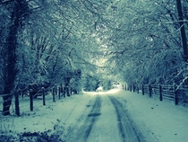 Its a nice place when it snows Roscommon Ireland