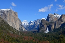 Its beautiful this time of the year Yosemite National Park CA