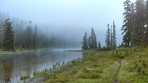 Its cloudy like heaven Indian Heaven Wilderness Washington