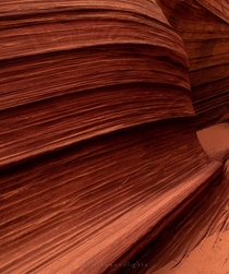 Its just incredible that nature created that texture on sandstone The Wave Arizona  farbeyondlights