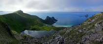 Its my birthday so heres a small gift to you guys a stunning panorama from Mtind Bleik Norway