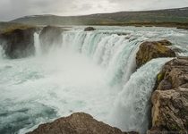 Its no Niagara Falls but its still awesome Iceland