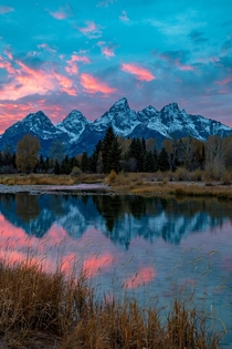 Its The Sunsets You Never Expect To Be Great That Are Pink Reflections From Last October Grand Teton National Park Wyoming