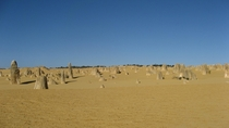 Ive been seeing a lot of Western Australia on here Here are The Pinnacles Taken on my trip there  years ago OCx