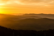 Ive been to many beautiful places in America but few have been as gorgeous or appropriately named as this Sunrise over the Great Smokies