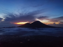 Ive not seen a more beautiful sunrise hike view than this  so far  Mt Batur Bali Feb  - before Covid  took over