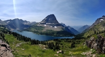 Ive seen a few shots from Glacier National Park lately and thought Id share one of mine from August Hidden Lake Overlook
