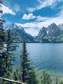 Jackson Lake Grand Teton National Park Wyoming USA