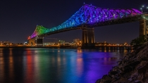 Jacques-Cartier bridge in Montral Canada