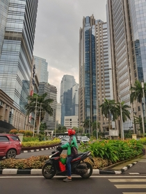 Jakarta city is fast becoming the hi rise capital of world
