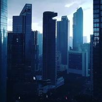 Jakarta in the morning