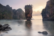 James Bond Island Thailand at sunset  by Lus Henrique de Moraes