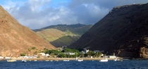 Jamestown St Helena in the South Atlantic