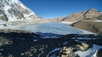 January morning at Tilicho Lake  Nepal  m