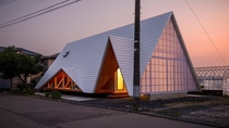 Japanese Tent-Shaped House