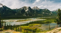 Jasper National Park - Athabasca river  OC