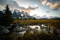 Jasper National Park Backcountry Tonquin Valley