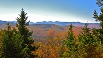 Jay Mountain New York - Adirondack Fall Colors  OC