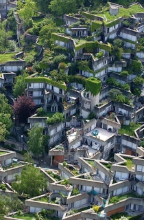 Jean Renaudies housing complex in Ivry-sur-Seine Paris