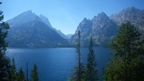 Jenny Lake Grand Tetons Grand Tetons National Park