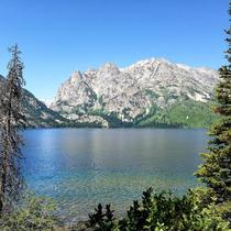 Jenny Lake in Grand Teton National Park WY
