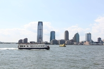 Jersey City from Lower Mahattan