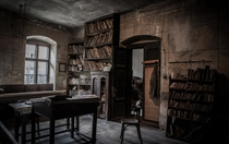 Jewish Schoolhouse in Slovakia untouched since  by Yuri Dojc Link to article and more photos in comments