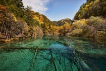 Jiuzhaigou Valley Sichuan China