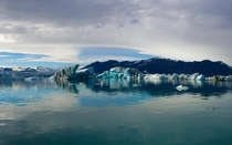 Jkulsrln Glacier Lagoon in Iceland Absolutely breathtaking Taken in June