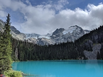Joffre Glacier and Lake near Pemberton BC  x  OC