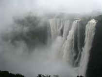 Jog Falls India as of this morning