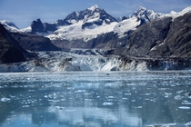 Johns Hopkins Glacier Glacier Bay Alaska  OC