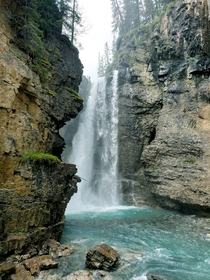 Johnston Canyon Upper Falls AB Canada